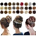 Messy Bun Hair Piece Thick Updo Scrunchies Hair Extensions Ponytail Hair Accessories for Women Ladies Girls