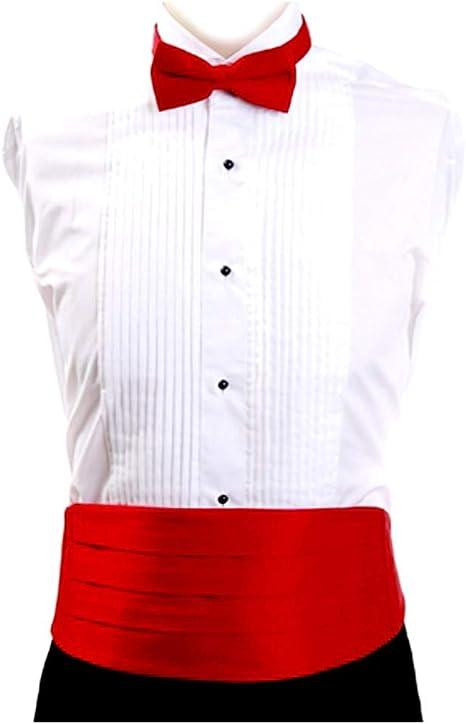 black formal cumberband bow tie with tiny silver detail UNISEX Vintage adjustable black satiny bow tie cumberband set