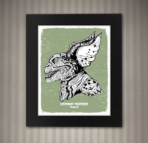 Mogwai (Gremlin) - Legendary Creatures Art - 8x10