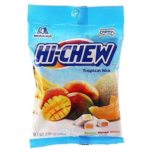 Hi-Chew Bags, Tropical Mix, 3.53 oz