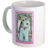 CafePress - Love Is A Wire Fox Terrier - Unique Coffee Mug, Coffee Cup