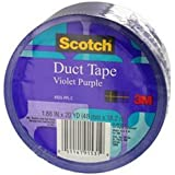 3M Duct Tape, Violet Purple, 1.88-Inch by 20-Yard