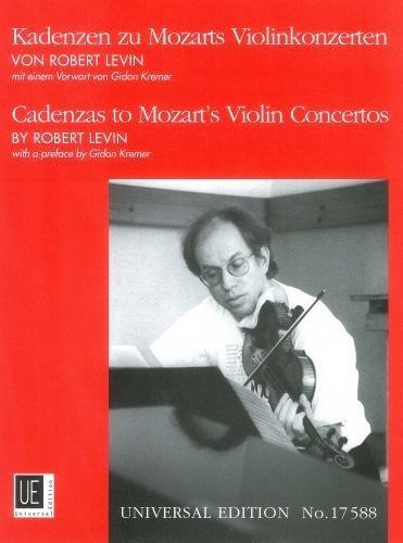 Levin: Cadenzas To Mozart's Violin Concertos by Robert Levin (2003-11-09)