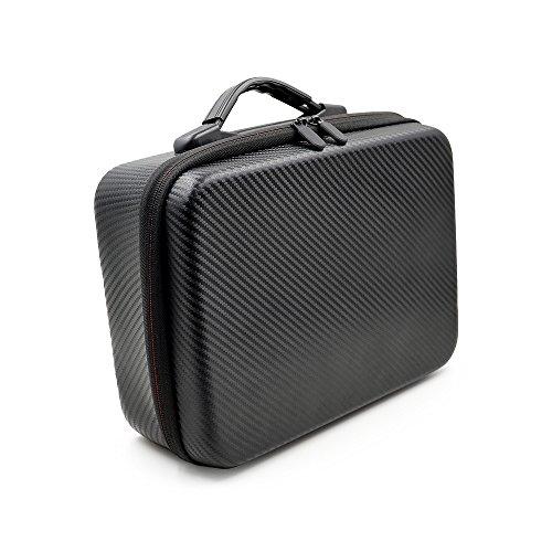 Flexman Hard EVA Travel Black Case Fits DJI Spark Palm Launch Intelligent Portable Mini Drone (Black) (Dji Spark Palm Launch Intelligent Portable Mini Drone)