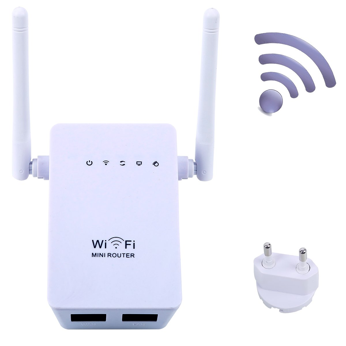 Extensor de red WiFi Enrutador Inalámbrico Mbps Wireless N MiNi Router AP