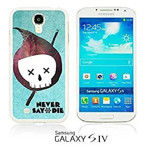 OnlineBestDigital - Typography Pattern Hard Back Case for Samsung Galaxy S3 III I9300 - Never Say Die
