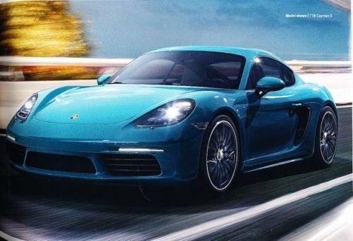 Amazon.com: 2018 Porsche 62-page Sales Brochure Catalog - 911 Turbo GT3 GT2 Cayman Boxster: Everything Else
