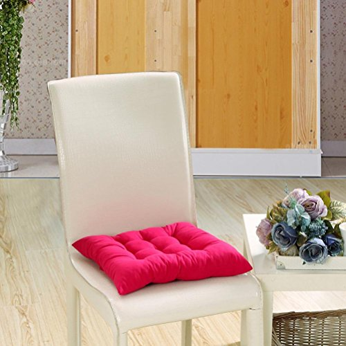 Gillberry Indoor Garden Patio Home Kitchen Office Chair Pads Seat Pads Cushion New (Hot pink B)