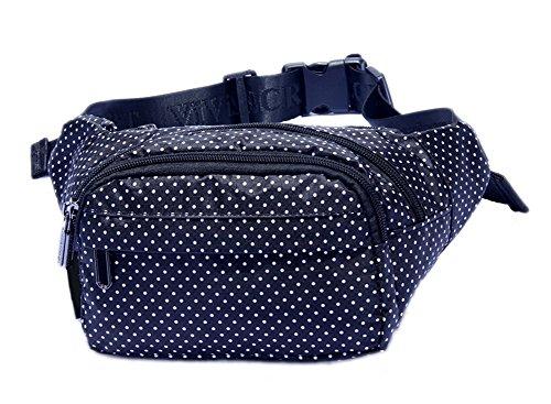 Createbag Women Floral Chest Waist Cross-body Handbag Satchel Shoulder Tote Bag 1002-star