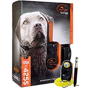 SportDOG Brand FieldTrainer 425S Stubborn Dog Remote Trainer - 500 Yard Range - Waterproof, Rechargeable Training Collar with Tone, Vibration, and Shock 36