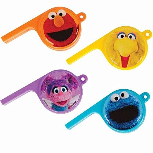 Amscan Sesame Street Whistles