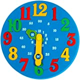 Little Genius Time Learning Clock, Blue