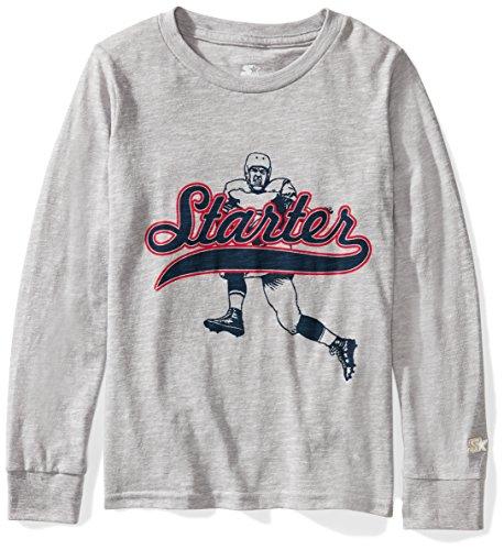 Football Jersey Shirt Boys - Starter Boys' Football Jersey Logo T-Shirt, Amazon Exclusive, Black, M
