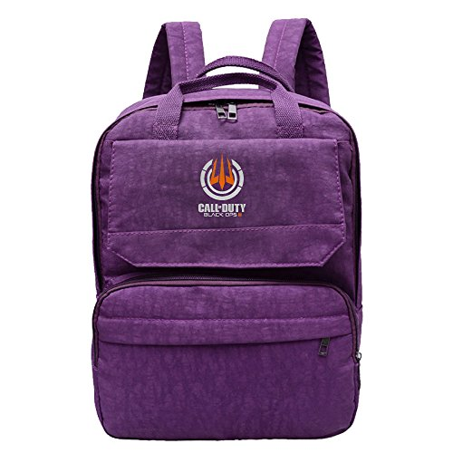Call Of Duty Black OPS 3 Cristine Bag Men & Women Leisure Backpack Travel School Bag For Hiking Camping Daypack Purple