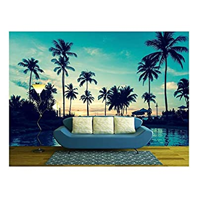Alluring Work of Art, Soft Twilight of The Amazing Tropical Marine Beach, Top Quality Design