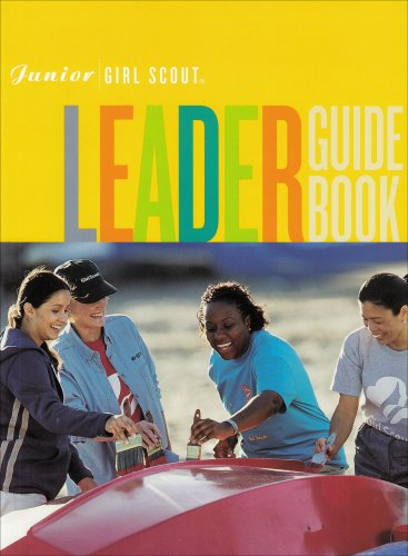 Junior Girl Scout Leader Guide Book - Leaders Girl Junior Scout