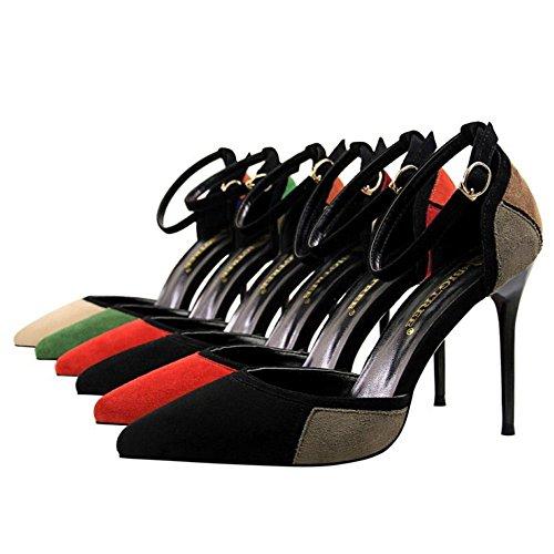 Mode ivory 6 Colors Orange Zanpa Stiletto Sandals Donna RwCxn54q