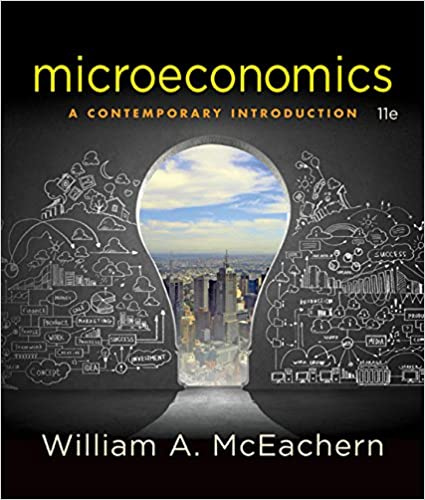 Microeconomics a contemporary introduction 9781305505537 microeconomics a contemporary introduction 11th edition fandeluxe Image collections