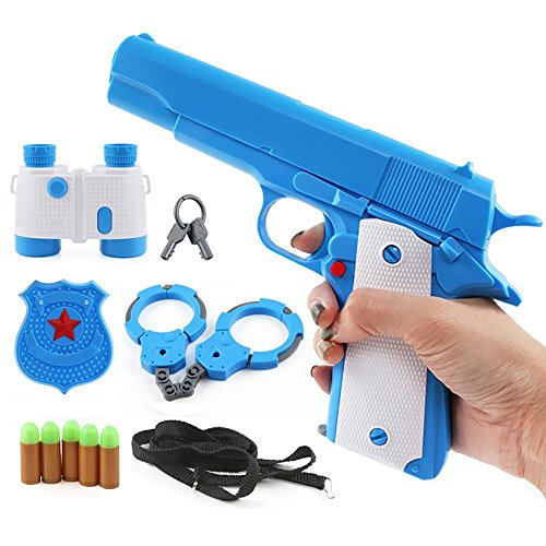 Thickyuan Plastic Soft Bullet Gun Toy/Children Shooting Toys/Playing House Many Accessories & Outdoor party toys The whole package
