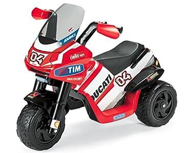 Peg Perego Ducati Desmosedici Moto A Tre Ruote Bellissima Moto Per