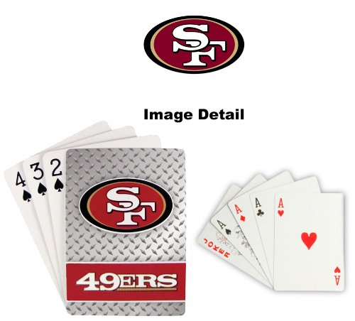 Pro Specialties Group NFL San Francisco 49ers Playing Cards - San Francisco 49ers Nfl Football