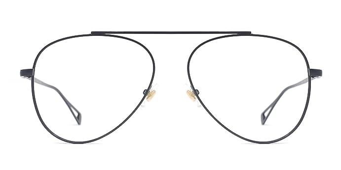 Amazon.com: TIJN Old School Retro Outfit Aviator Glasses Frames for ...