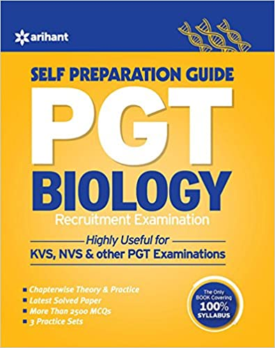 KVS PGT Biology Self Prepration Guide
