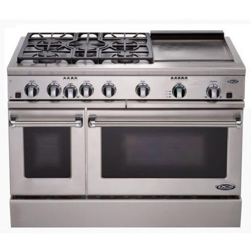 Price comparison product image DCS : RDT-485GD-N 48in Professional Dual Fuel Range