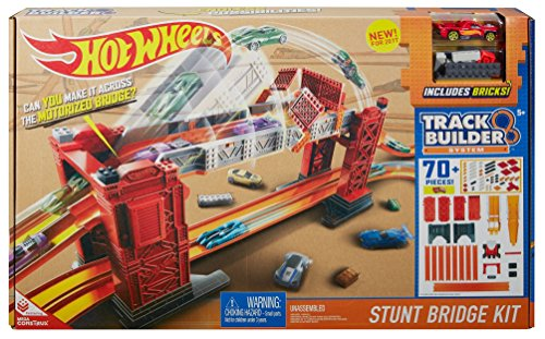 Hot Wheels Track Builder Stunt Bridge Kit JungleDealsBlog.com