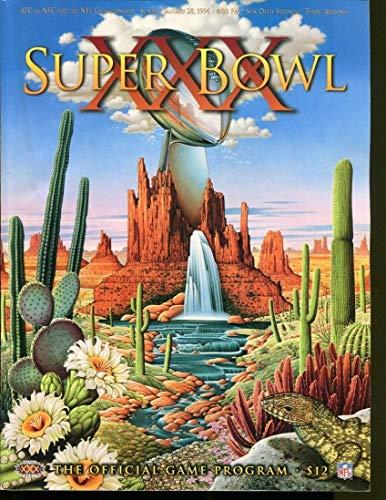 Super Bowl XXXI 31 Program Packers v Patriots No UPC NMT 29614 ()
