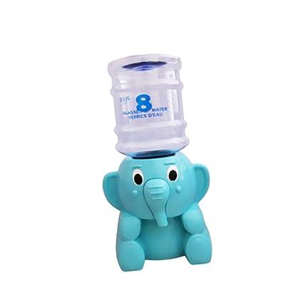 Dispensador de agua de elefante Mini embotellada refrigerador de agua potable soporte multicolor
