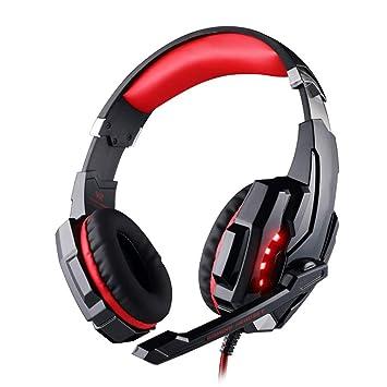 LIMTT Auriculares con Micrófono Y Sonido Envolvente 7.1 para ...