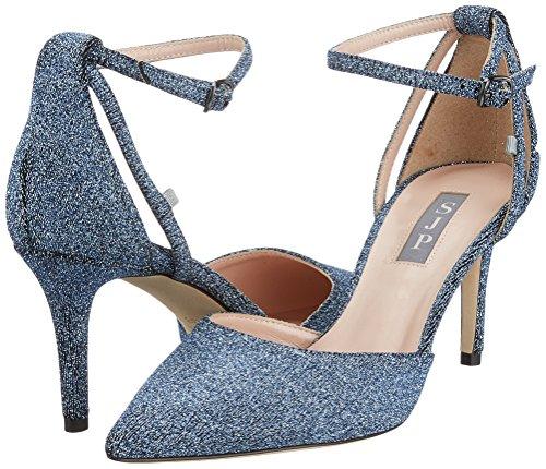 Blue Jessica Sarah Strap By Heels Jersey Women''s blue Parker Sjp Quest Ankle zRSqw5Ex