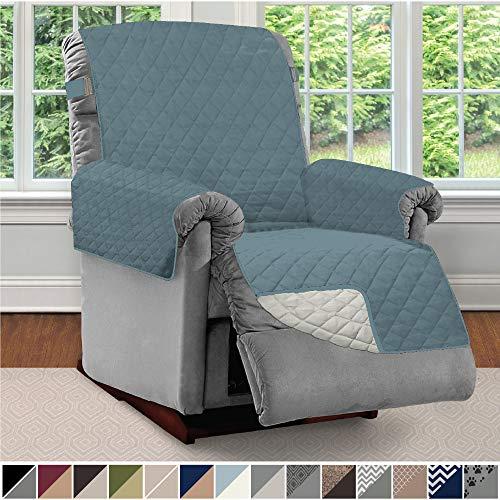 (Sofa Shield Original Patent Pending Reversible Recliner Slipcover, Dogs, 2