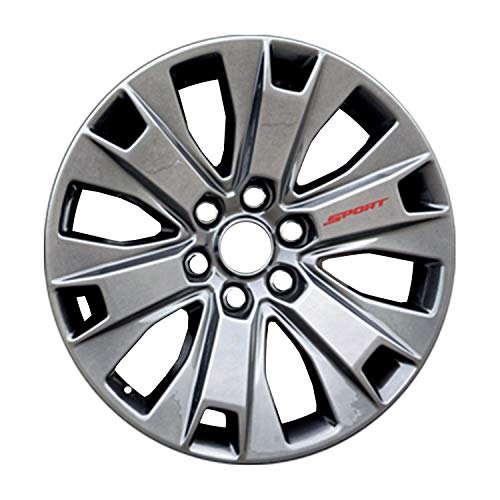 Multiple Manufactures ALY10065U79 Silver Wheel with Painted and Meets All Federal Motor Safety Standards (20 x 8.5 inches /6 x 135 mm, 44 mm Offset)