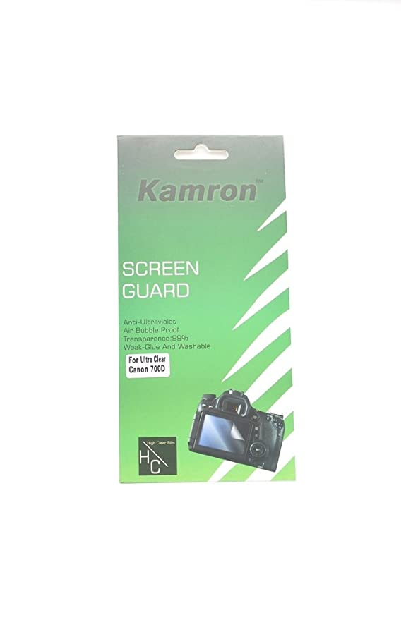 Kamron Scratchgard Anti-Ultraviolet Screen Protector For Canon EOS 700D / 750D <span at amazon