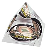 "NFL Pittsburgh Steelers Heinz Field in 2"" Crystal Pyramid with Colored Windowed Gift Box"