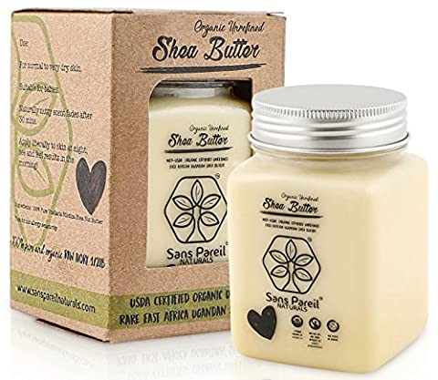 Organic Shea Butter: Certified Fair-Trade, Highest Quality Unrefined Nilotica East African Shea Butter – Nourishes, Replenishes and Protects Skin and Hair - - African Shea Butter Shampoo