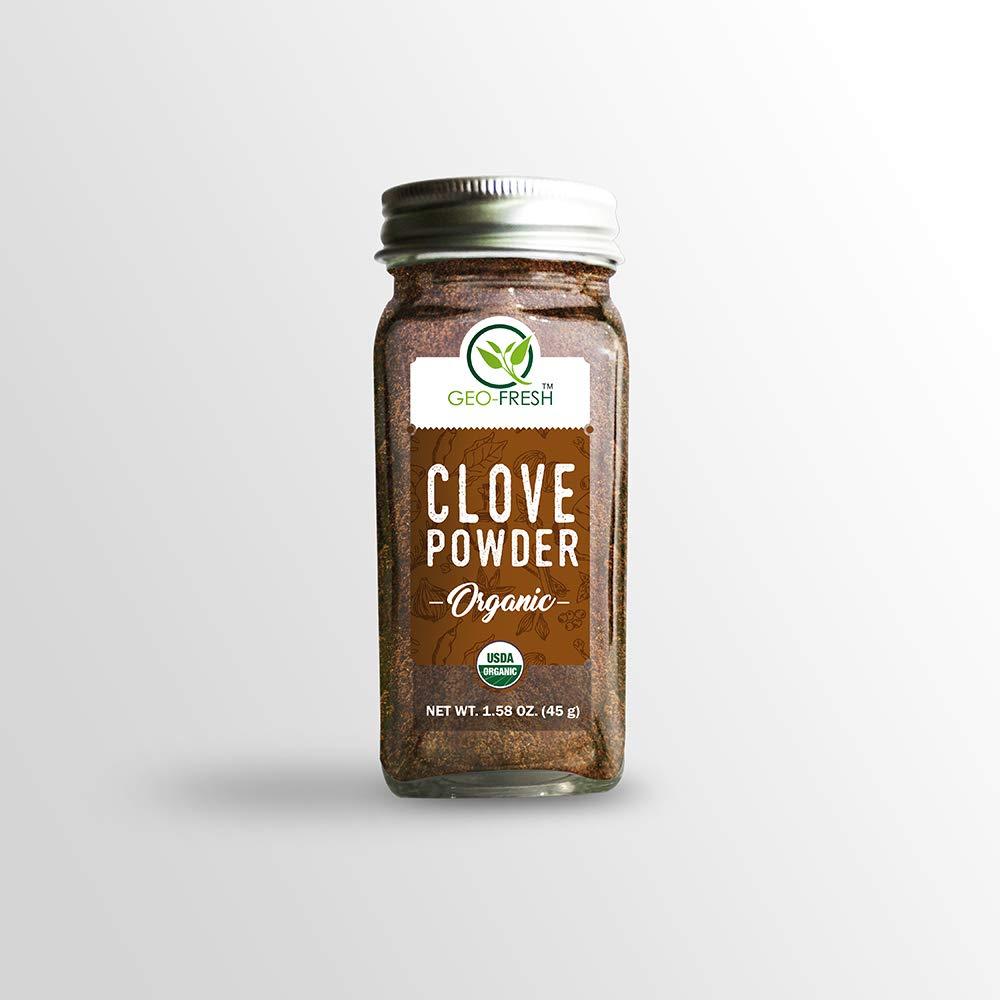 Geo-Fresh Organic Clove Powder - 45g (Pack of 2) by Geo-Fresh (Image #2)