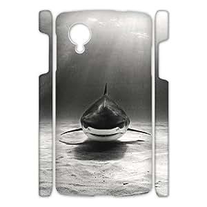 YNFYC Deep Sea Shark Shell Phone Case For Google Nexus 5 [Pattern-1]