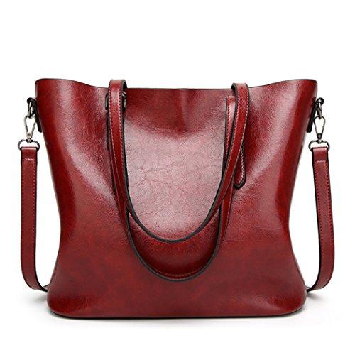 Purse Messenger Vin Sac Générique Rouge Satchel Top Sacs Nouveau Mode Femmes Tote Bandoulière Poignée À Main mO8n0wNv