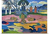 Paul (1848-1903) Gauguin Poster Print entitled The Day of the God, 1894