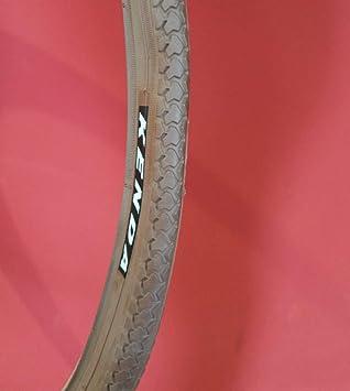 Kenda - Neumático para bicicleta 26 x 1 3/8 marrón ETRTO 37-590 ...