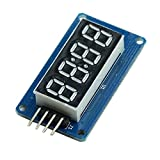 Product review for 2 x 4 Bits TM1637 Digital Tube LED Clock Display Module For Arduino Due UNO 2560 R3