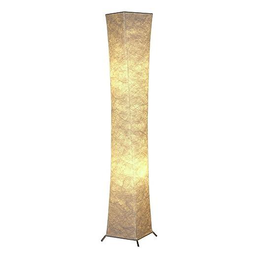 Moderna lámpara de pie 132 cm atmósfera cálida dormitorio ...