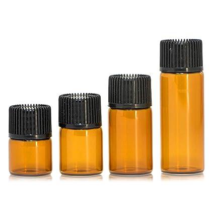 79854c9500fe Amazon.com: Romote 8pcs Assorted Essential Oil Bottles 1/2/3/5 ML ...