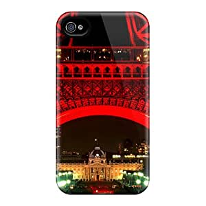 Fashionable QMG21919jHYL Iphone 5/5s Cases Covers For Eiffel Tower At Night Protective Cases