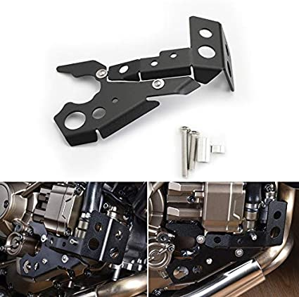 Areyourshop Prot/ège-culasse de moteur droit pour H-O-N-D-A CRF1000L Africa Twin 2016-2019