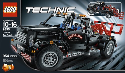 lego technic pick up tow truck 9395 import it all. Black Bedroom Furniture Sets. Home Design Ideas