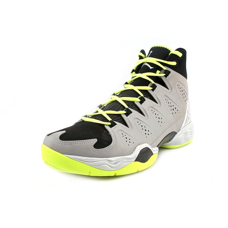 Amazon.com   Jordan Men\u0027s Melo M10, MTLLC SILVER/MTLLC SLVR-BLACK-VOLT, 11  M US   Basketball